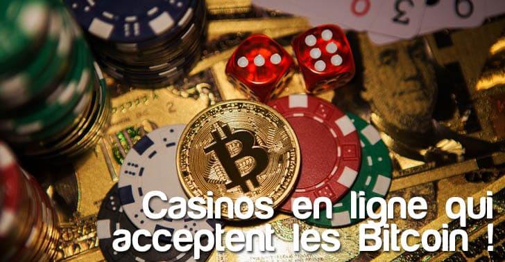 Casinos en ligne qui acceptent les Bitcoin