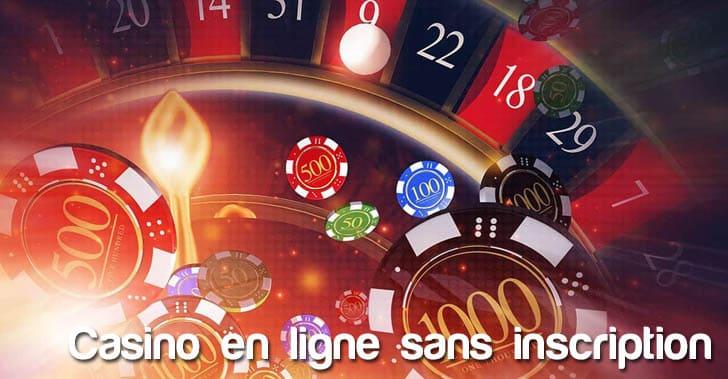 Casino en ligne sans inscription ni téléchargement