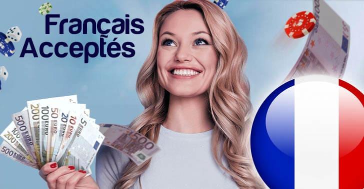Casinos en ligne qui acceptent les joueurs français