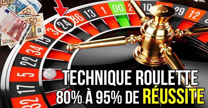 Méthode de la distance à la roulette des casinos en ligne